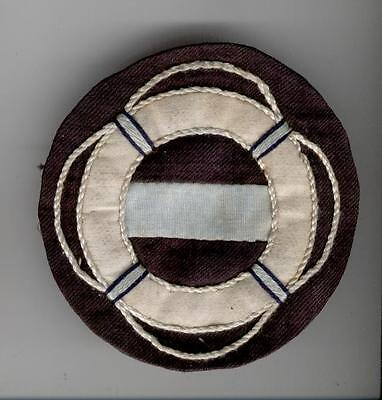 Passengers  Safety Personel Patch P & O Liners & Troopships 1930-40's Ww2