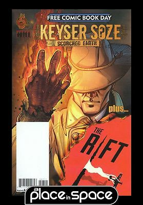Free Comic Book Day 2017 Keyser Soze (Usual Suspects) / Jeremy Renners The Rift