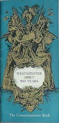 Westminster Abbey 900 Year Celebration Program/book, 1966