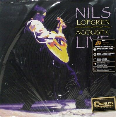 Nils Lofgren -  Analogue Productions - App 090 - Acoustic Live - 2Lp Set