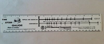 Vintage 50's ITE Electrical Advertising Ruler