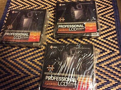 Lot Of 3 GGS Bf Model II  Glass LCD Screen Protector for Canon  550d camera New