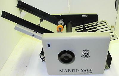 Martin Yale 1501 (CV-7) Automatic Paper Letter Folder Folding Machine.