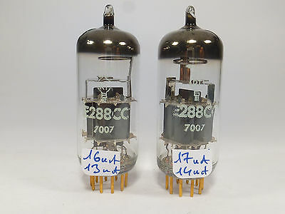 one pair E288CC RT la Radiotechnique tested strong on U61C