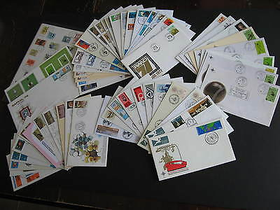 SOUTH AFRICA 55 different? mostly 1970s era FDC First Day Covers, worth a look!