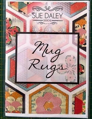Sue Daley Designs Busy Fingers English Paper Piecing Mug Rugs Booklet