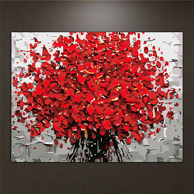 Flower Oil Painting By Numbers Acrylic Drawing On Canvas DIY Home Office Decor