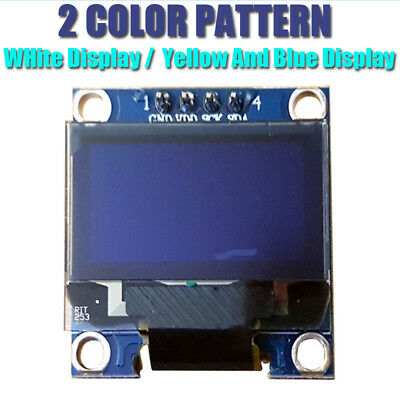 "2pc I2C OLED Display 128X64 0.96"" SSD1306. For Arduino / Raspberry Pi / ESP8266"