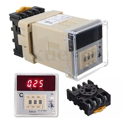 Digital 220V PID Temperature Controller K Type Thermocouple Sensor Thermostat