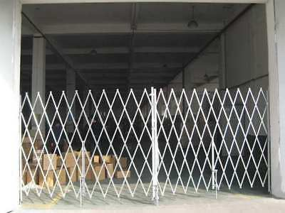Folding Gate,16 to 18 ftW x 7-1/2 ftH,PR G0044156