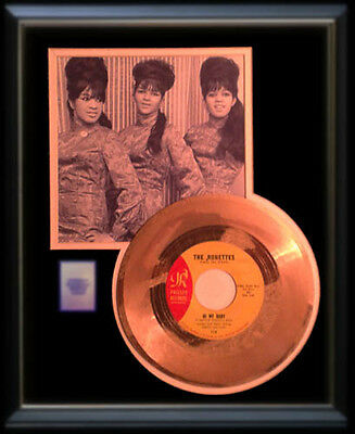 The Ronettes  Gold Record Be My Baby  45 Rpm Rare Phil Spector Ronnettes