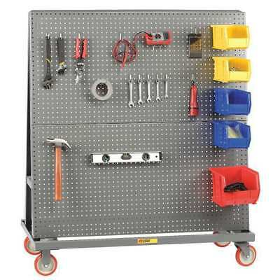 LITTLE GIANT AFPB-2460-5PY A-Frame Truck,2-Sided,60x24,w/Pegboard G2246861