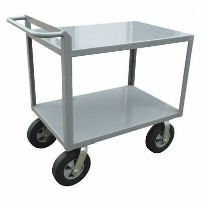 Utility Cart,Steel,42 Lx24 W,1500 lb. ZORO SELECT 5CHA3