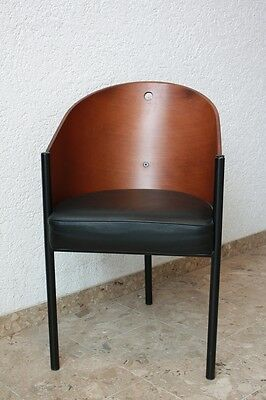 Philippe Starck Driade Costes Stuhl Sitz Cafe Chair Stool - Mahagoni