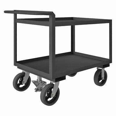 Utility Cart,Steel,42 Lx24-1/4 W,2400 lb Durham MFG RSCR243636ALUFL8MR95