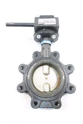 Milwaukee ML122B Dn 4 In Manual Steel Flanged Butterfly Valve