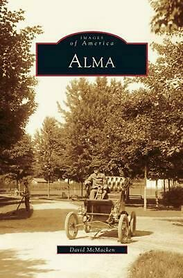 Alma by David McMacken (English) Hardcover Book Free Shipping!