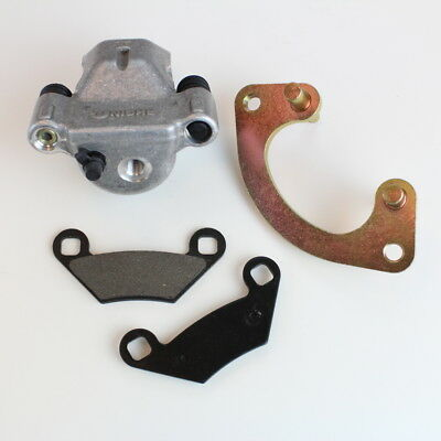 Polaris Scrambler XP 850 Rear Brake Caliper Pads Mounting Bracket 2013, 2014