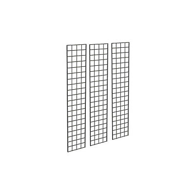 1' X 5'  Gridwall Panels - 3 Pcs Box - Grid Wall Display - Garage Organization