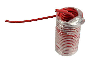 10 AWG Solar Panel Wire 25' Power Cable UL 4703 Copper MADE IN USA PV Gauge Red