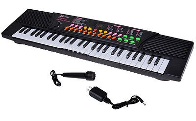 54 Keys Music Electronic Keyboard Kid Electric Piano Organ Record Playback W/Mic