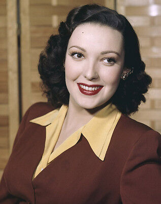 LINDA DARNELL beautiful stunning quality Vintage Original 5x4 TRANSPARENCY Slide