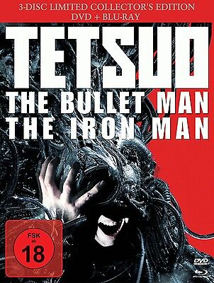Tetsuo - The Bullet Man (Limited Collector Edition, 3 Discs) [3x Blu-ray Disc]