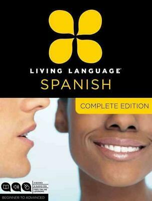 Living Language Spanish, Complete Edition: Beginner to Advanced [With Book(s)] b