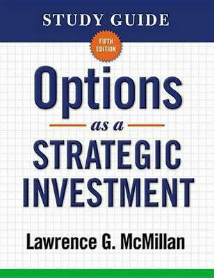 Options as a Strategic Investment by Lawrence G. McMillan (English) Paperback Bo