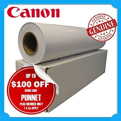"Canon A0 Borderless Gloss Paper Roll 190GSM 841mmx30m for 36"" Graphic Printers"