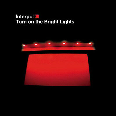 INTERPOL Turn on the Bright Lights LP Vinyl LTD ED REISSUE NEW 33RPM