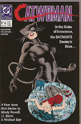 Catwoman * Complete 4 Issue Mini-Series * 1989 * Nice Copies!