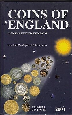 Coins of England and the United Kingdom 2001 SPINK 36th edition