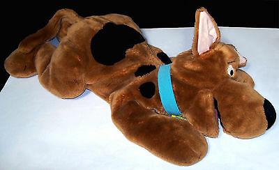 Warner Bros. Plush 3 Foot Scooby-Doo Cuddle Pillow - Floppy Stuffie - VGC