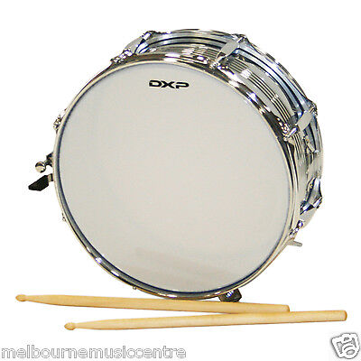 """DXP MARCHING SNARE DRUM 14"""" x 5"""" Size Drum *Includes Sticks* NEW!"""