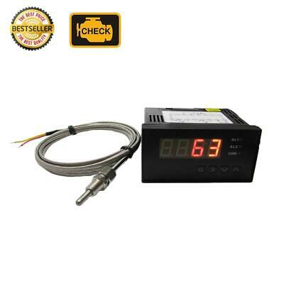 Digital EGT Meter with 2 Alarm Outputs &  K Type EGT Temp Sensors Combo Kit ( ℃)