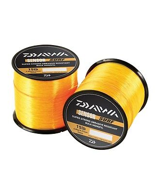 Daiwa NEW Sensor Mono Orange Sea Fishing Line 12lb, 18lb and 20lb