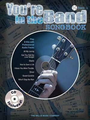 You're in the Band - Songbook 1 (English) Paperback Book Free Shipping!