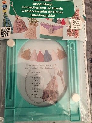 Large Tassel Maker-by Clover Makes 5 Sizes