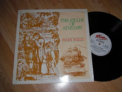 Paddy Reilly The Fields Of Athenry Rare Folk Lp 1984 Exc