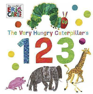 THE VERY HUNGRY CATERPILLAR'S 123 Board Book / ERIC CARLE9780141367941