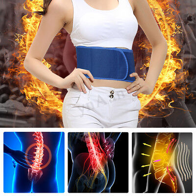 Magnetic Heat Waist Belt Brace For Back Pain Relief Self-heating Therapy Support