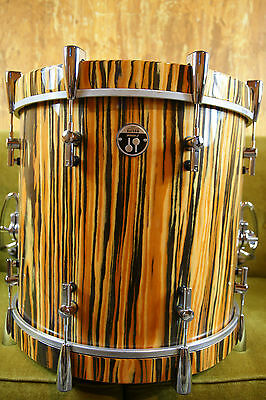 SONOR DELITE 18 x 16 BASS DRUM MADE IN GERMANY MINT+ BASS DRUM LIFTER + HEADS
