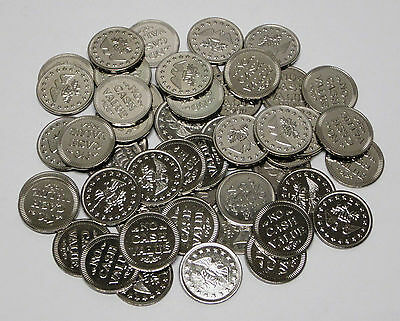 "Lot of 50 ""No Cash Value"" Eagle Tokens In Nice Condition!"