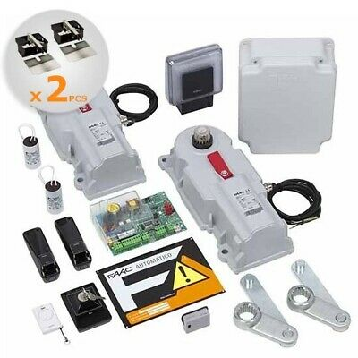 KIT POWER FAAC integrale automazione interrato battente 2 - 3,5M 24V SAFE