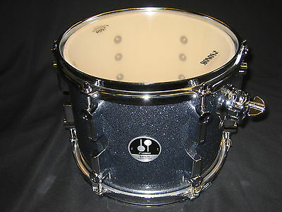 "Tom Tom SONOR SSE10 Safari , 10""x8"", Black Galaxy Sparkle , NEU"