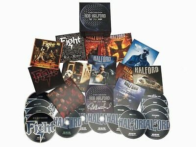 ROB HALFORD Complete Albums Collection CD Box Set NEW 2017