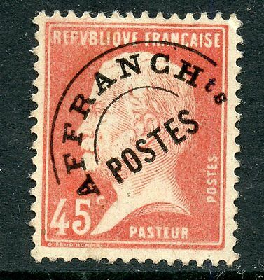Stamp / Timbre France Preoblitere N° 67 Neuf Sans Gomme