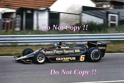 Ronnie Peterson JPS Lotus 78 Brazilian Grand Prix 1978 Photograph 1