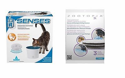 Hagen Zootopia Cat It Water Fountain Replacement Filters 3 Pack 27202